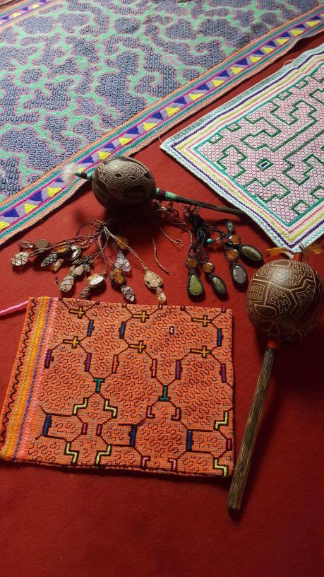 sac shipibo maracass collier