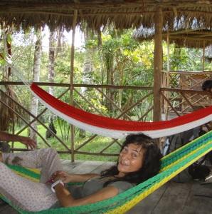 Elsa Cayat - Terre de Colibris - Pérou 2013